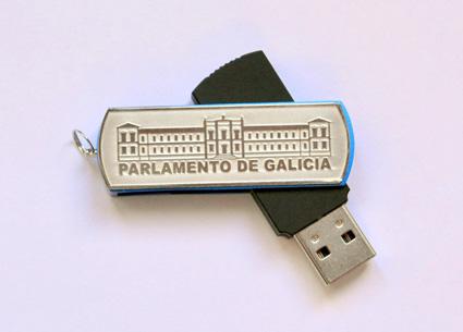 Pen drive – FACHADA PARLAMENTO DE GALICIA (4 XB)