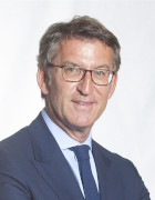 Foto de: Presidente da Xunta: Alberto Núñez Feijóo