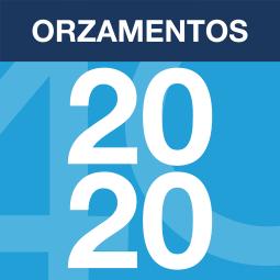 Logo do debate de orzamentos 2020