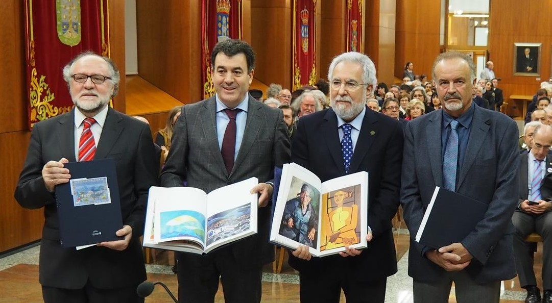 "Foto da noticia:Santalices: ""A política segue tendo moito que aprender do arte"""