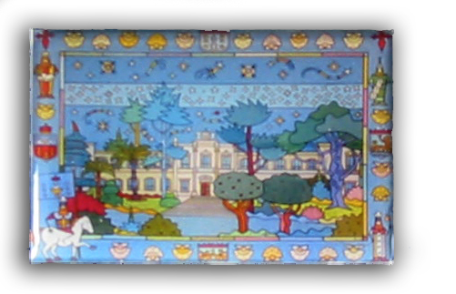 """Imán cadro """"O Parlamento de Galicia"""""""