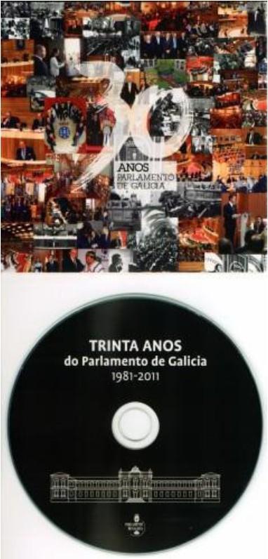 """Libro """"30 anos do Parlamento de Galicia"""". Formato CD"""